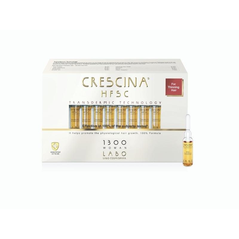 juukseampullid Crescina Transdermic 1300 naistele
