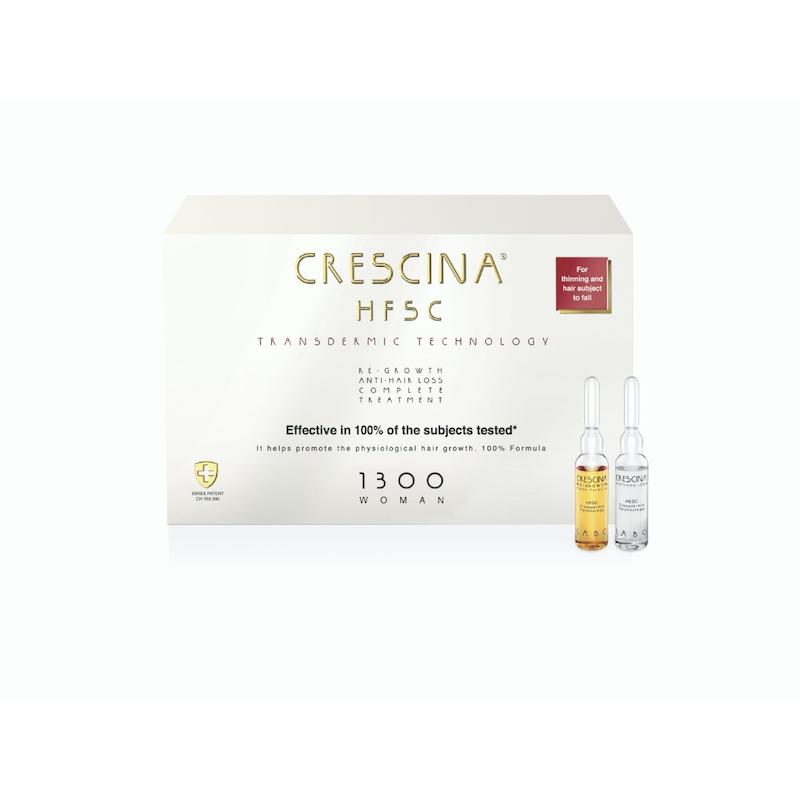 juukseampullid crescina transdermic 1300 komplekskuur naistele