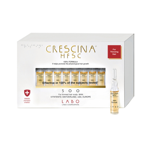 juuukseampullid, crescina