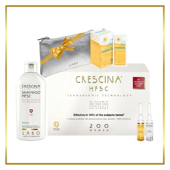 komplekt juustele naistele, crescina transdermic 200