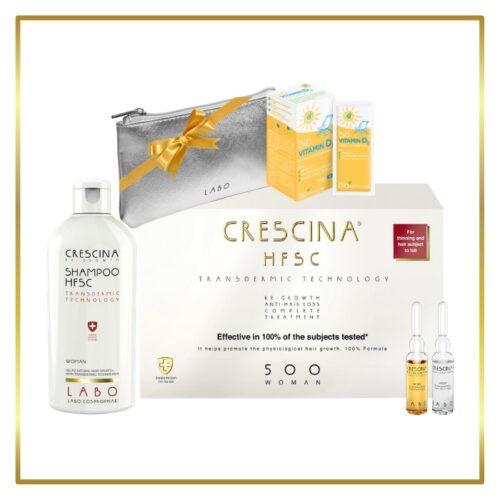 komplekt juustele naistele, crescina transdermic 500