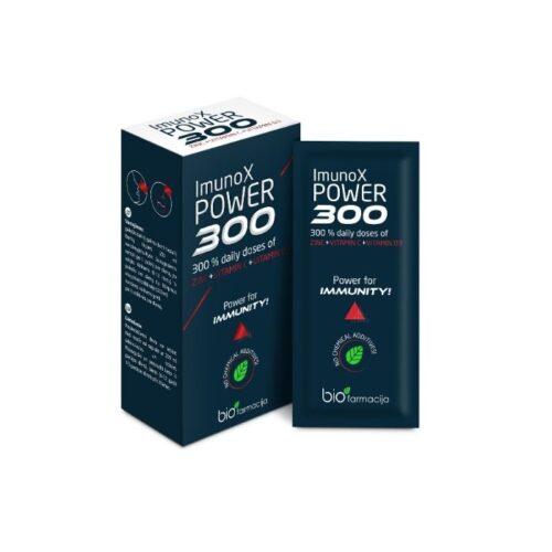 toidulisand immuunsuse toetamiseks ImunoX Power 300
